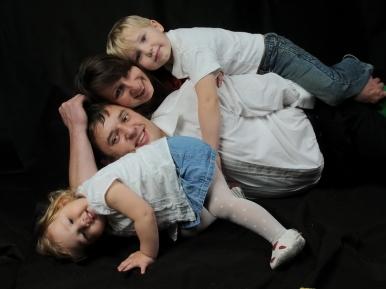 Fotosesija šeimai