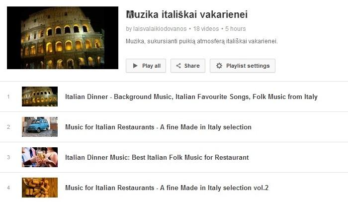 youtube italija