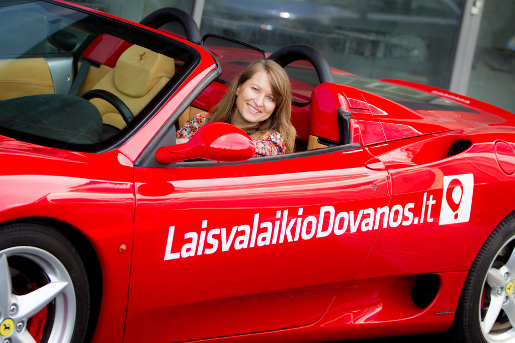 Ferrari Lietuvoje