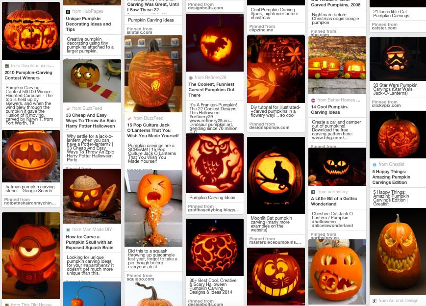 Helovino moliūgų idėjos