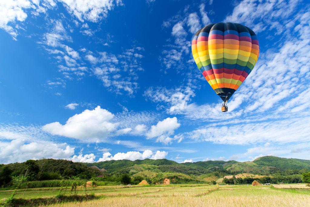 Oro balionas dviem