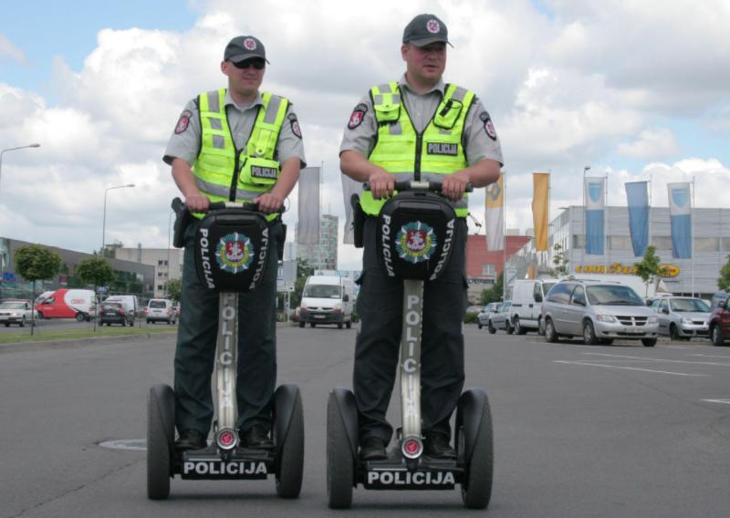 segway policininkams