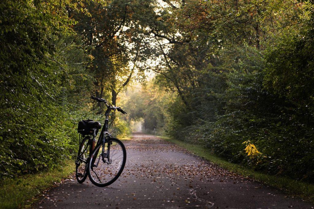 pasivazinejimas dviraciu