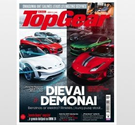 TOP GEAR prenumerata (12 mėn.)