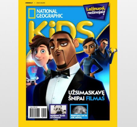 """National Geographic KIDS"" prenumerata (6 mėn.)"