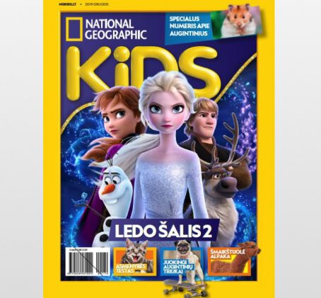 """National Geographic KIDS"" prenumerata (12 mėn.)"
