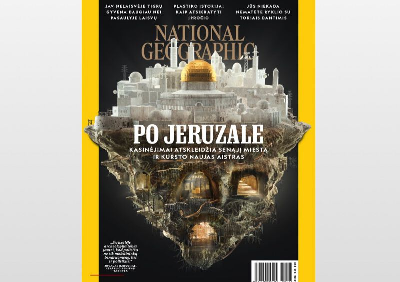 """National Geographic"" ir ""National Geographic KIDS"" prenumerata (1 mėn.)"