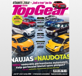 TOP GEAR prenumerata (6 mėn.)