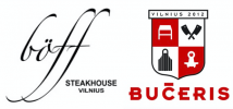 "Restoranas ""Boff Steakhouse Vilnius"" ir ""BUČERIS by Boff Steakhouse"""