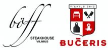 "Restoranas ""Boff Steakhouse Vilnius"" ir ""BUČERIS by Boff Steakhouse"""